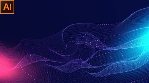 Abstract Wallpaper Background Design by Abstract Technology Background Design Wavy Line Design