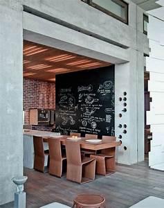 Tableau Ardoise Murale : l 39 ardoise murale noire un objet de d co pour votre int rieur ~ Preciouscoupons.com Idées de Décoration