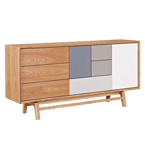 Coloured Sideboards by Grane Mid Century Modern Sideboard W Multi Colored Panels