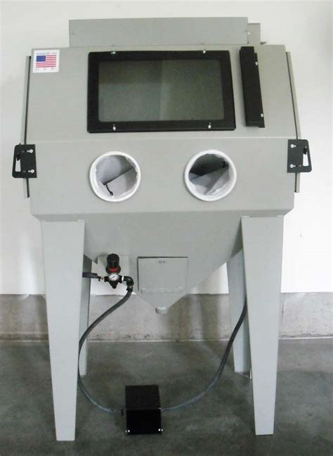 bead blast cabinets used glass bead cabinets ams 4024 100 power blaster