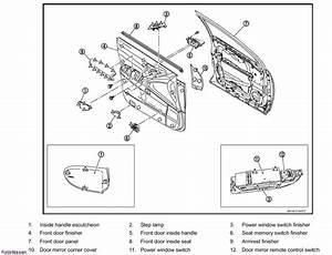 Service Manual  Diagrams To Remove 2010 Nissan Murano