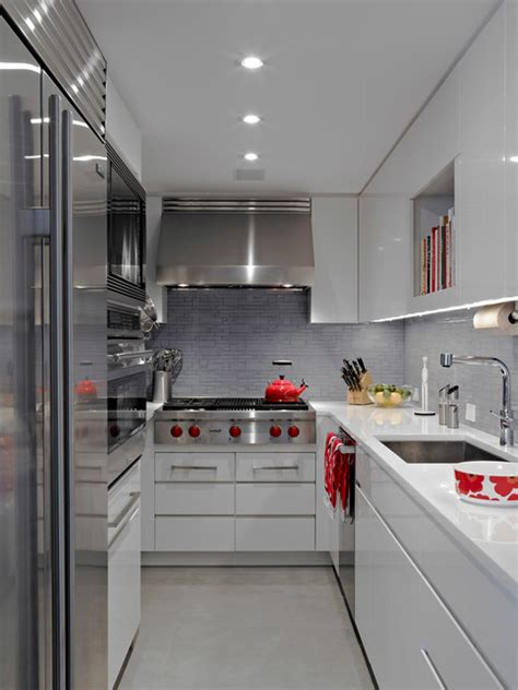 apartment galley kitchen modern apartment nyc contemporary kitchen new york 1307