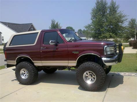 New Ford Bronco For Sale by 1996 Ford Bronco For Sale South Carolina