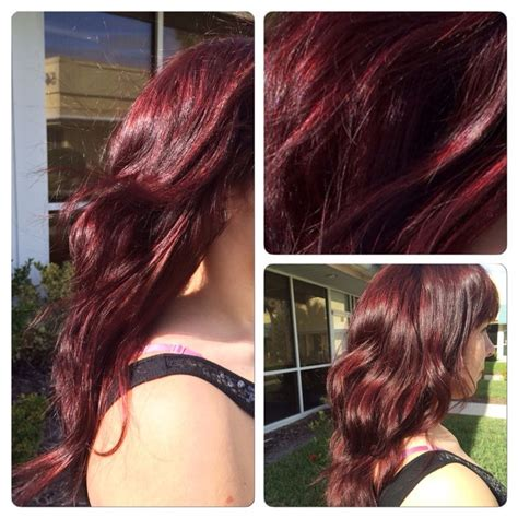 sangria hair color redken shades eq color gloss in sangria 05rv hair colour