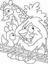 Zoo Coloring Animal Animals Sheets Printable Colouring Sheet Cartoon Lovers Bestcoloringpages Put Madagascar Preschool Farm Popular sketch template