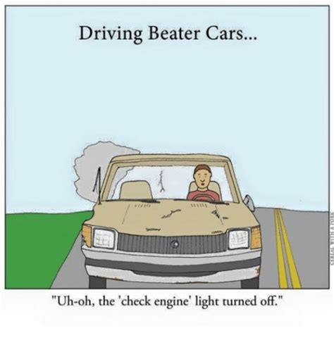 check engine light on and off driving beater cars uh oh the check engine 39 light turned