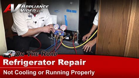 refrigerator repair diagnostic not cooling or running maytag whirlpool kitchenaid