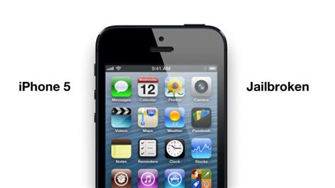 what is a jailbroken iphone iphone 5 jailbroken