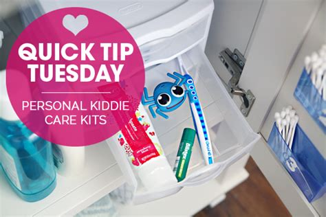 Iheart Organizing Quick Tip Tuesday Personal Kiddie Care