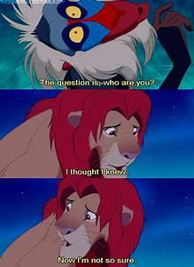 Sad Lion King Q... Deep Disney Quotes