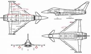 Eurofighter Typhoon Line Drawing Svg
