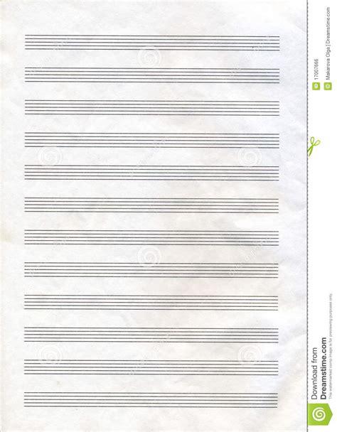papier de note de musique image libre de droits image