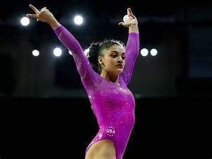 Laurie Hernandez: Get to Know Team USA Gymnastics' Rising ...  Gymnastics