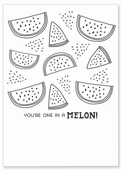 Coloring Printable Watermelon Printables Sheet Brighten Friend
