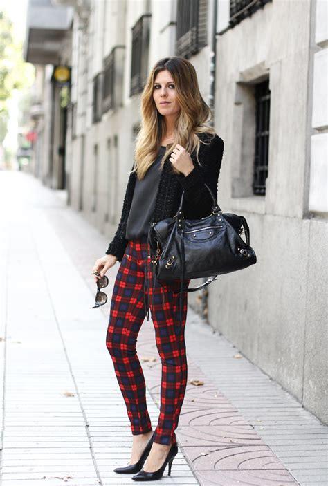 How To Wear Plaid Trend u2013 The femininity mystique