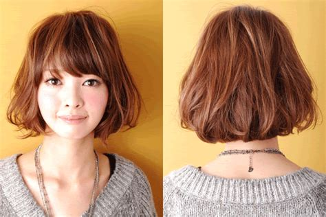 Pictures Of Short Digital Perm Hairstyles