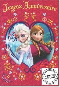 Joyeux Anniversaire Reine Des Neiges : carte musicale la reine des neiges ~ Melissatoandfro.com Idées de Décoration