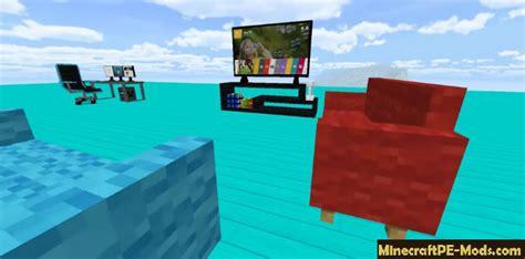 furniture furnicraft mod addon  minecraft pe