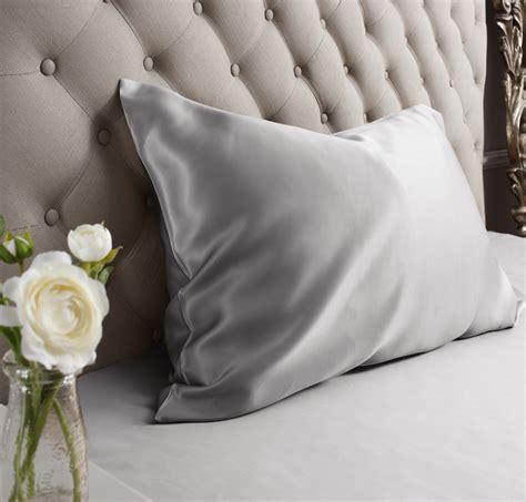 silk pillow cases grey silk pillowcase silk