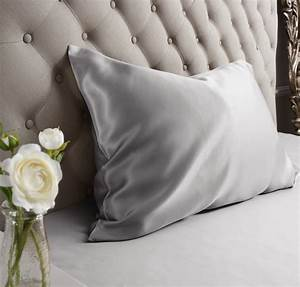 Grey Housewife ... Silk Pillowcases