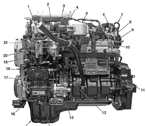 Maxforce Engine Diagram by 2010 Up Maxxforce Dt 9 10 Epa10 Engine Service Manual