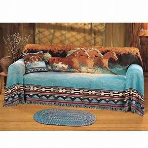 Horse Themed Sofa Covers
