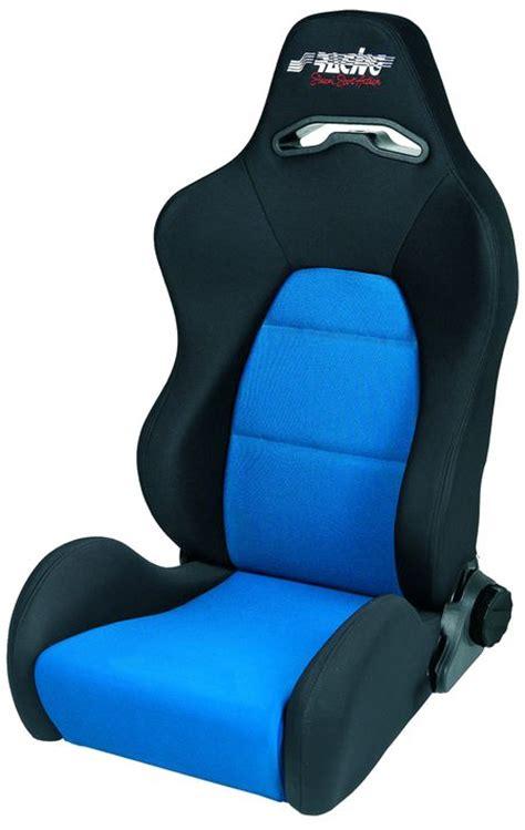 housse pour siege baquet siège baquet en tissu bleu sièges baquets web