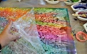 Malen Mit Kindern : frischhaltefolie zum malen mit kindern verwenden verschiedene maltechniken f r kinder pinterest ~ Markanthonyermac.com Haus und Dekorationen