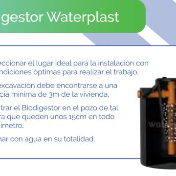tanque biodigestor  lts waterplast banos sanitarios