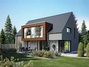 Moderne Häuser Mit Satteldach : 12 besten niedrigenergiehaus bilder auf pinterest ansicht architektur und moderne h user ~ Eleganceandgraceweddings.com Haus und Dekorationen