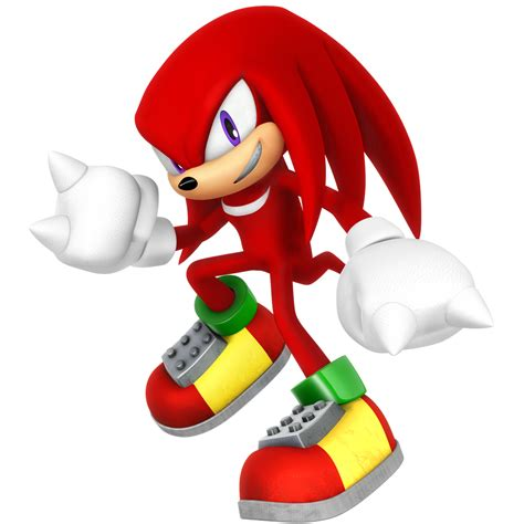 Legacy Knuckles the Echidna Render by Nibroc-Rock on ...