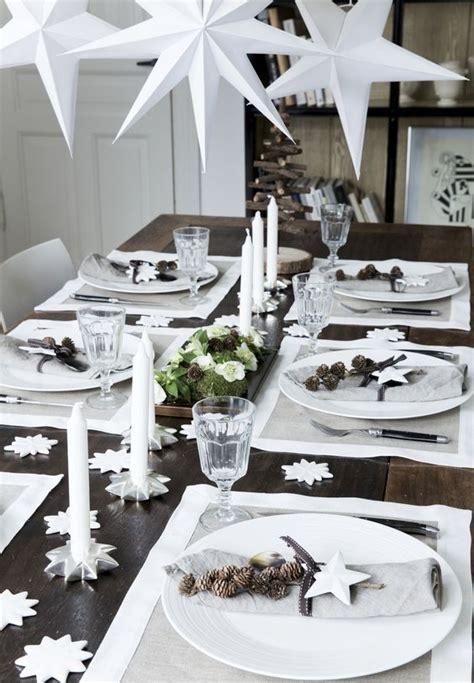 decoration table de noel   idees  copier