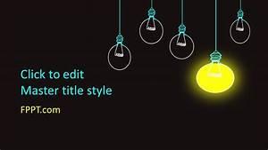Microsoft Word Templates Free Free Hanging Lamps Powerpoint Template Free Powerpoint