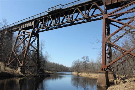 bridgehuntercom soo  trail kettle river bridge