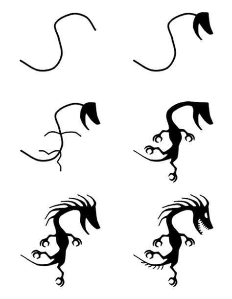 How to draw cartoon tattoos