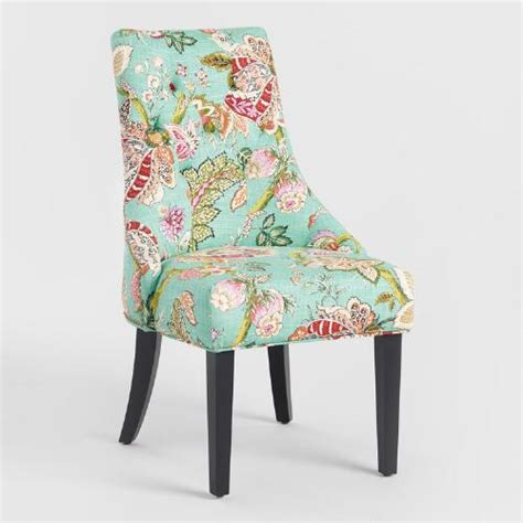Floral Upholstered Living Room Chairs by Monrovia Floral Lydia Dining Chairs Set Of 2 World Market