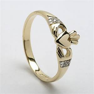 claddagh diamond wedding ring fashion belief With claddagh diamond wedding ring