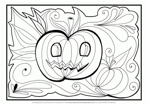 printable adult coloring pages halloween