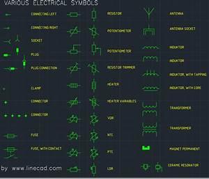 Cad Electrical Symbols  U2013 Free Cad Block Symbols And Cad