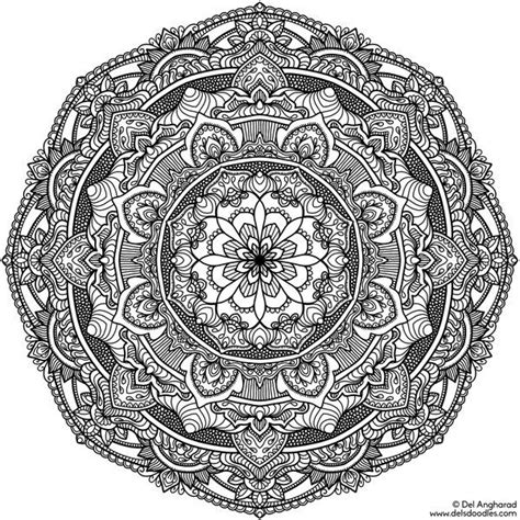 Coloring Krita by 22 Best Krita Mandala Coloring Pages Images On