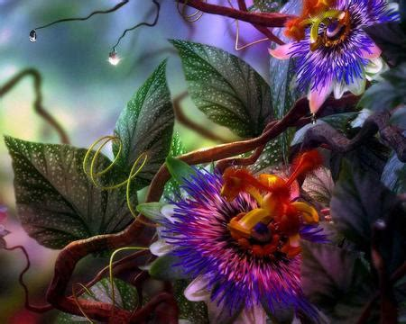 750x1334 beautiful 3d flower cg carnival flowers abstract background