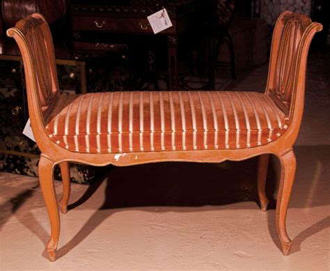 louis xv style painted banquette for sale at 1stdibs