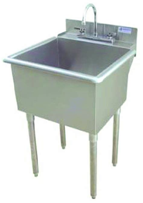 Utility Sink by Griffin Lt 118 Utility Sink With Drain Stainless Steel