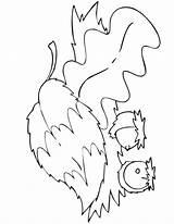 Coloring Fall Autumn Pages Leaves Acorn Printable Herfst Printables Leaf Kleurplaten Clip Fun Squirrel Printactivities Library Clipart Popular Sheet Acorns sketch template
