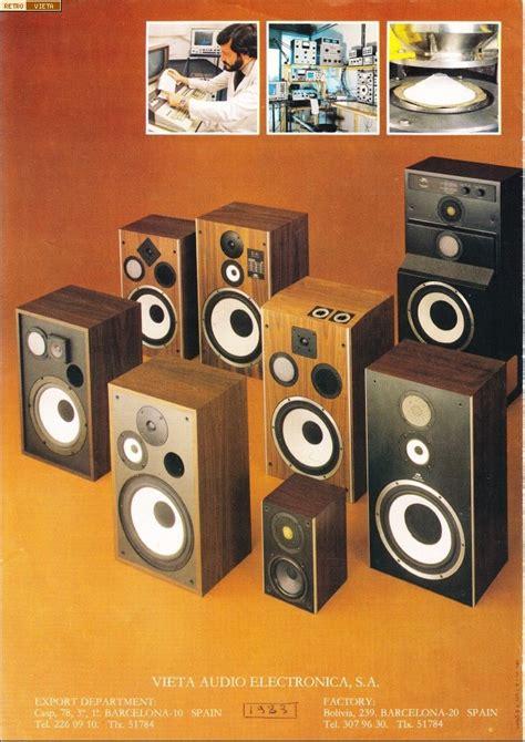 RetroVieta: Catálogo de altavoces Vieta de 1983