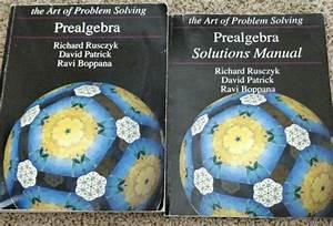The Art Of Problem Solving Prealgebra  U0026 Solutions Manual
