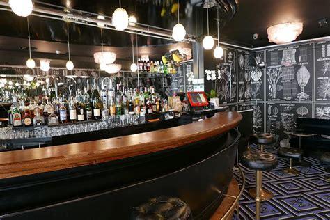 comptoir du bar