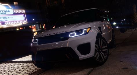 range rover sport svr  animated templated add