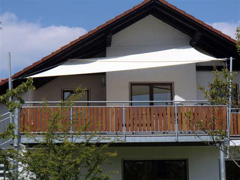 Befestigung Sonnensegel Balkon by Sonnensegel Balkon Befestigung