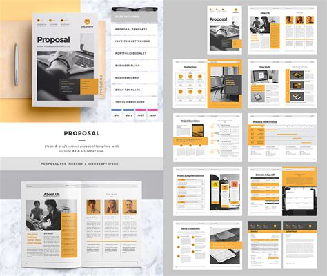 creative project proposal word template 15 best business proposal templates for new client projects